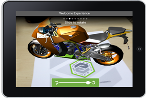 augmented reality with Vuforia View